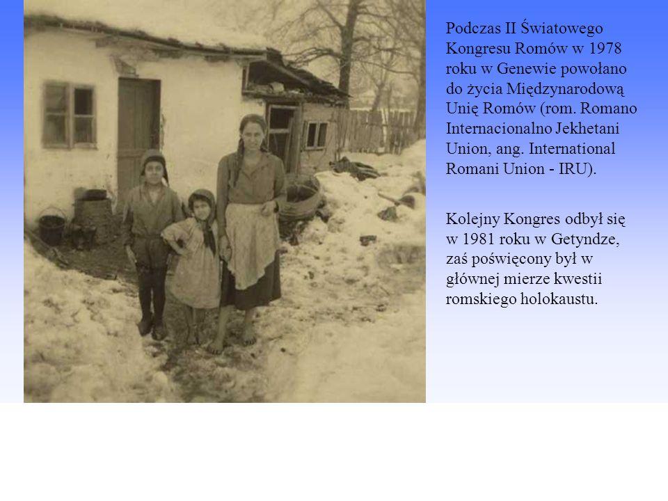 Podczas II Światowego Kongresu Romów w 1978 roku w Genewie powołano do życia Międzynarodową Unię Romów (rom. Romano Internacionalno Jekhetani Union, a