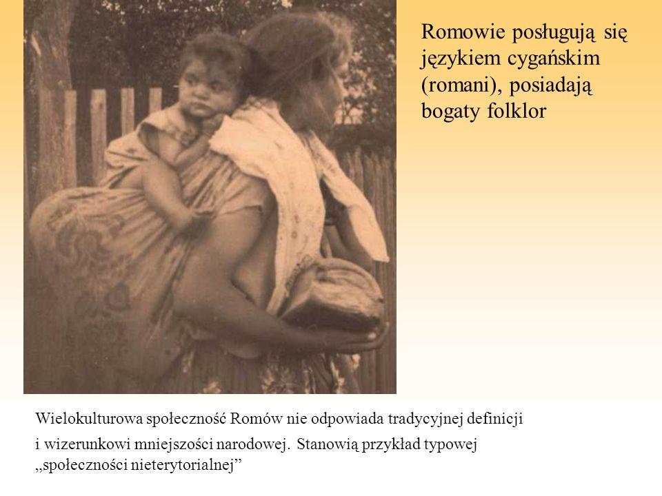 Wielokulturowa społeczność Romów nie odpowiada tradycyjnej definicji i wizerunkowi mniejszości narodowej. Stanowią przykład typowej społeczności niete