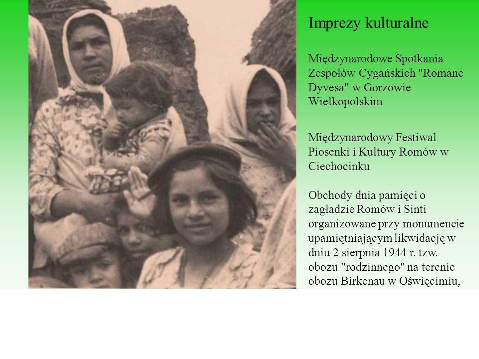 Imprezy kulturalne Międzynarodowe Spotkania Zespołów Cygańskich