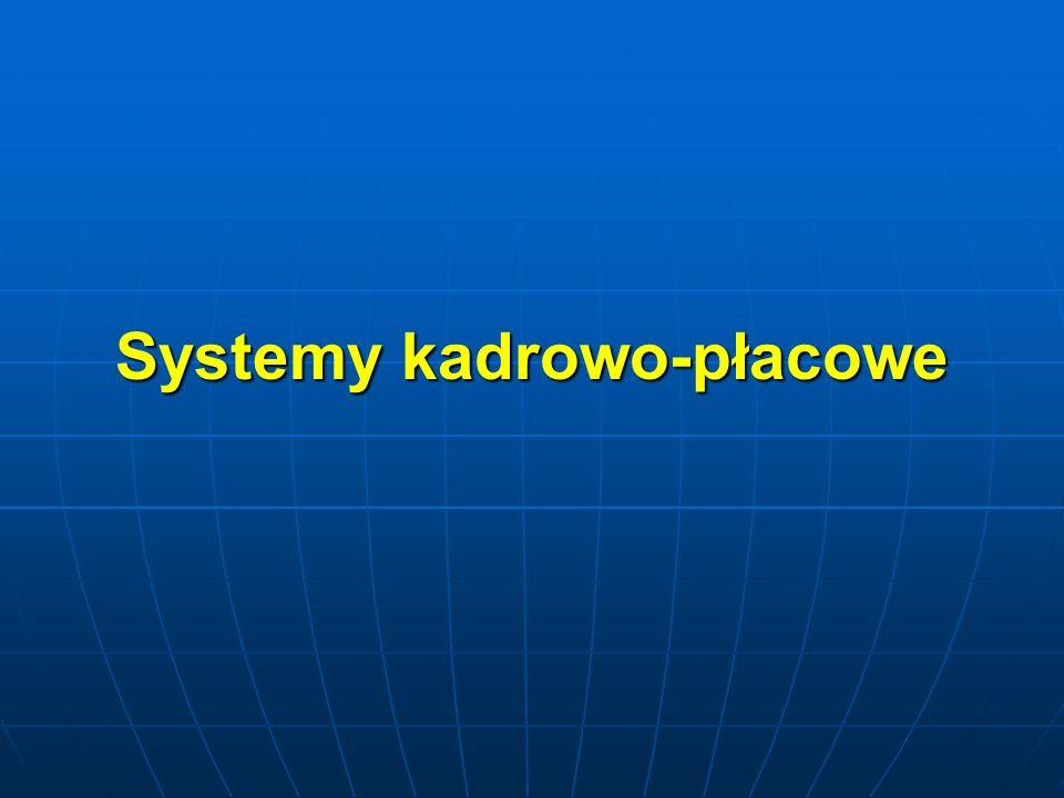 Systemy kadrowo-płacowe