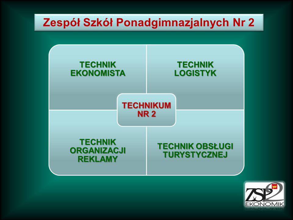TECHNIKUM NR 2 – kształcenie ogólne Nauka w technikum trwa 4 lata.