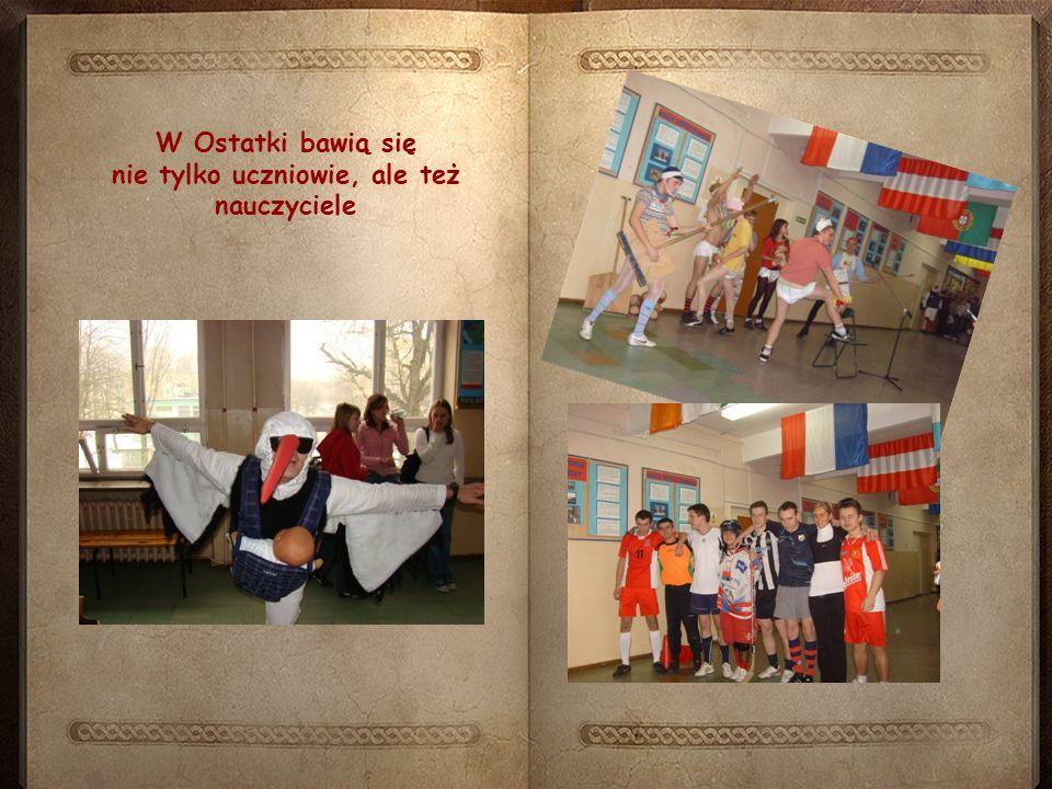 W Ostatki bawią się nie tylko uczniowie, ale też nauczyciele