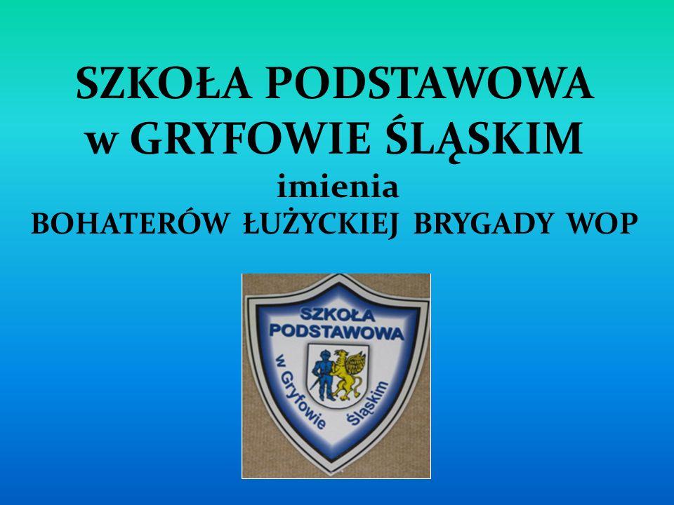 NAJWAŻNIEJSZE DANE SZKOŁY Adres: ul.Uczniowska 17, 59-620 Gryfów Śl.