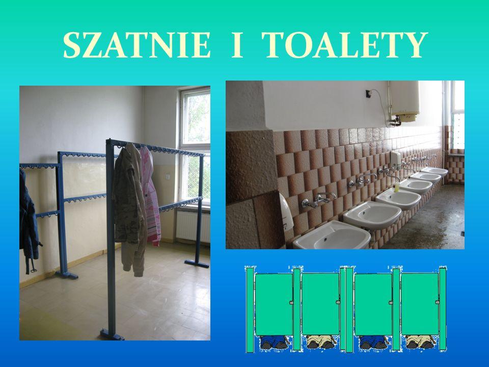 SZATNIE I TOALETY