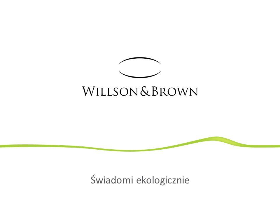 W Willson & Brown aspekty środowiskowe stawiamy na równi z innymi dziedzinami naszej działalności.