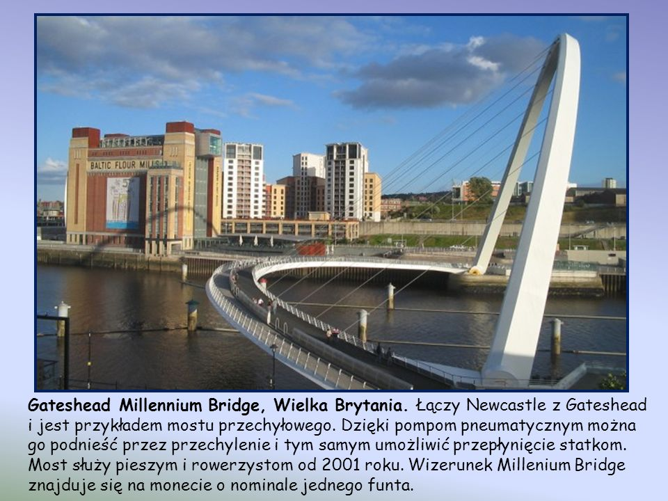 Most Juscelino Kubitschka, Brazylia. Ukończony w 2002 roku, asymetryczny most nad jeziorem Paranoa w stolicy Brazylii, został zaprojektowany przez Ale