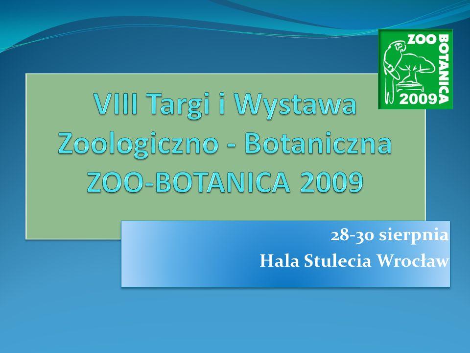 Trzy podstawowe zalety targów ZOO-BOTANICA 2009: 1.