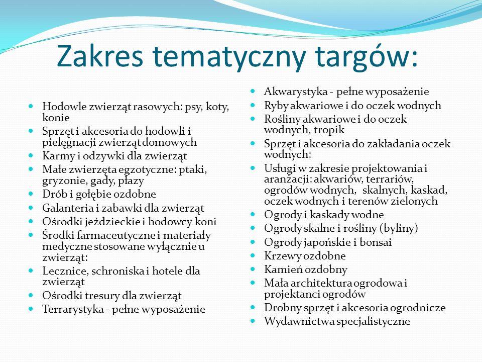 Ugruntowana pozycja imprezy na polskim rynku: Duża odwiedzalność ( zawsze ponad 15 tys.