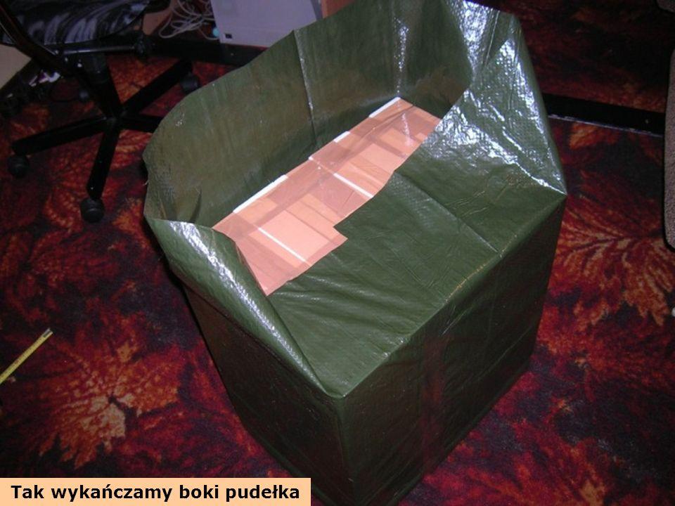 Tak wykańczamy boki pudełka