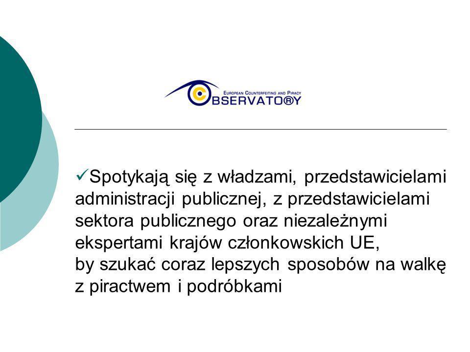 Spotykają się z władzami, przedstawicielami administracji publicznej, z przedstawicielami sektora publicznego oraz niezależnymi ekspertami krajów czło