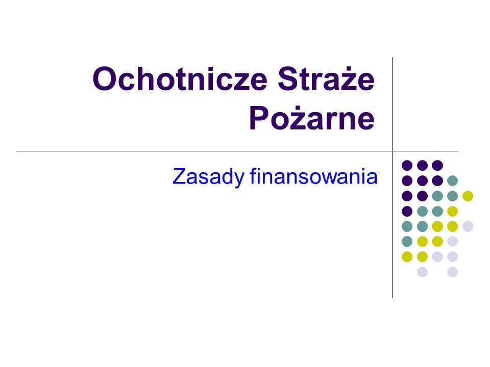 Budżet Państwa a OSP Budżet państwa uczestniczy w kosztach funkcjonowania jednostek ochrony przeciwpożarowej, o których mowa w art.
