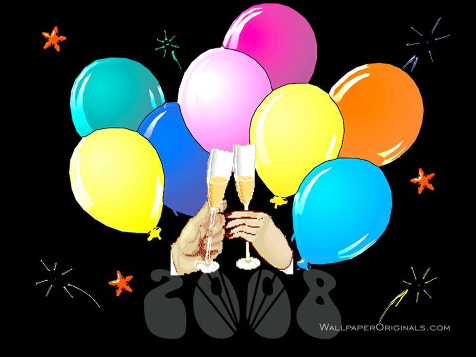 Niech Nowy Rok przyniesie radość, miłość, pomyślność i spełnienie wszystkich marzeń a gdy się one już spełnia nich dorzuci garść nowych marzeń, bo tyl