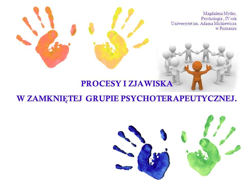 III faza rozwoju grupy psychoterapeutycznej: FAZA POG ŁĘ BIONEJ EKSPLORACJI PROBLEMÓW NA POZIOMIE INDYWIDUALNYM I GRUPOWYM.