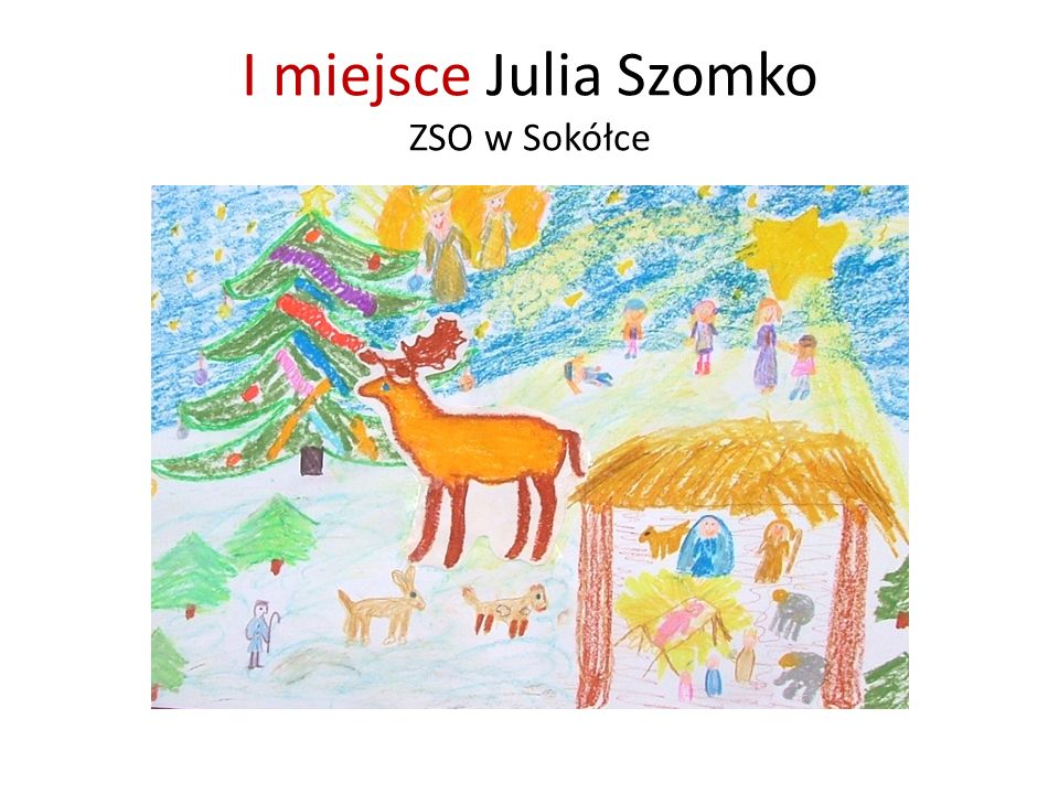 I miejsce Julia Szomko ZSO w Sokółce