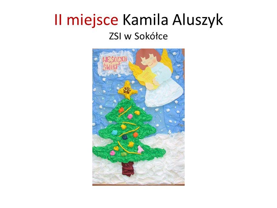 II miejsce Kamila Aluszyk ZSI w Sokółce