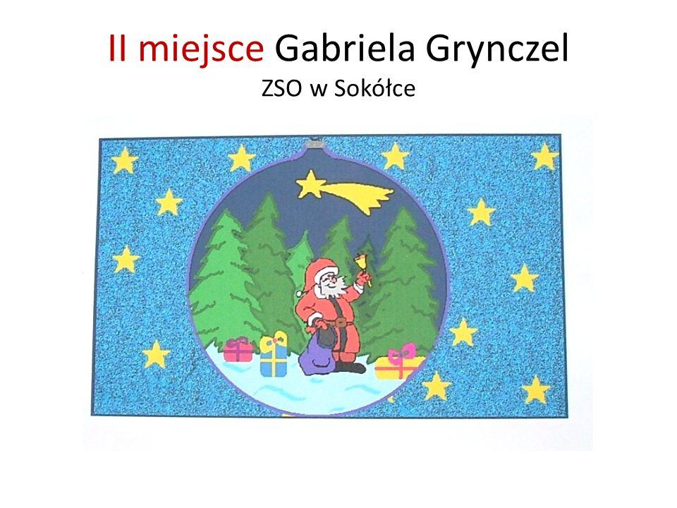 II miejsce Gabriela Grynczel ZSO w Sokółce