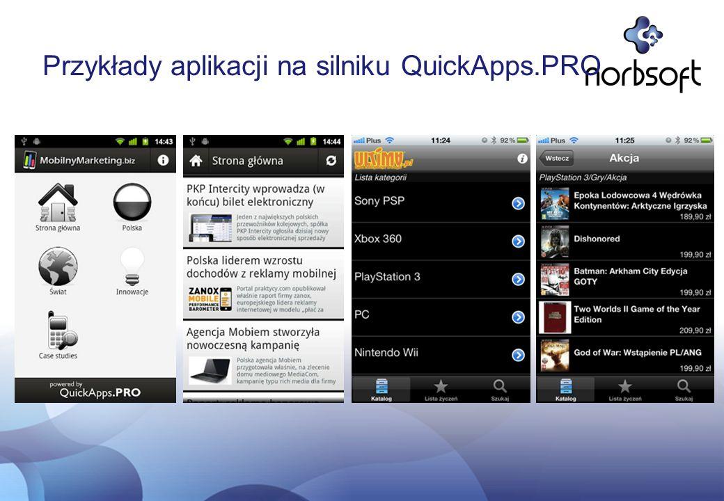 Przykłady aplikacji na silniku AR