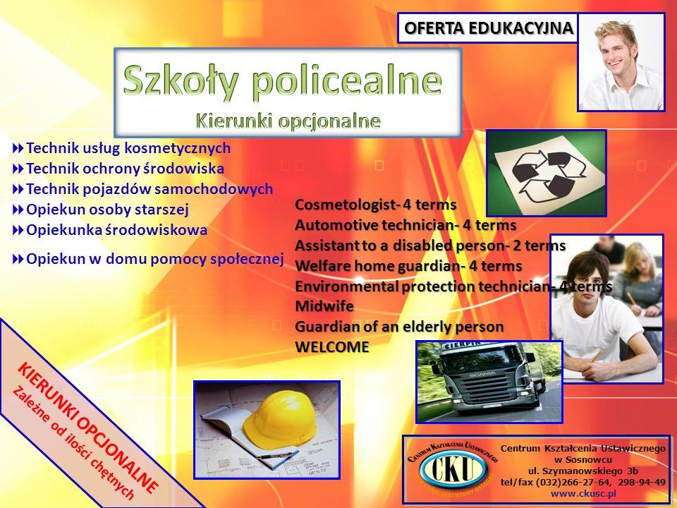 Centrum Kształcenia Ustawicznego w Sosnowcu ul.