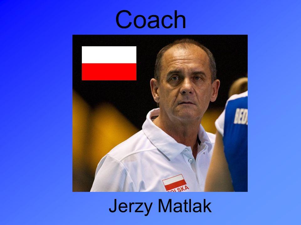 Coach Jerzy Matlak