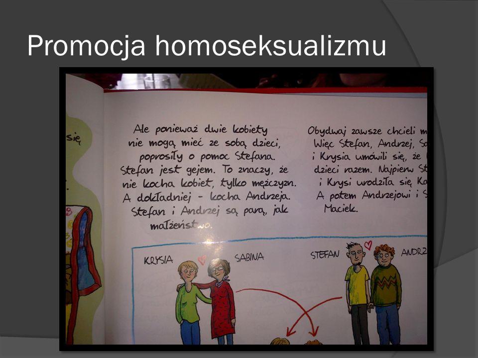Promocja homoseksualizmu
