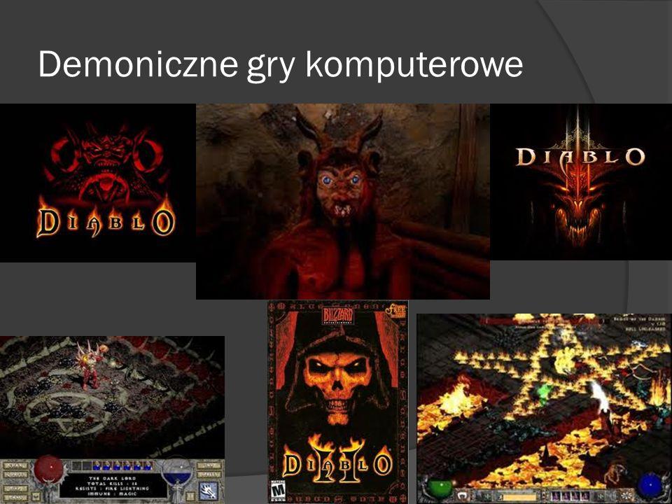 Demoniczne gry komputerowe