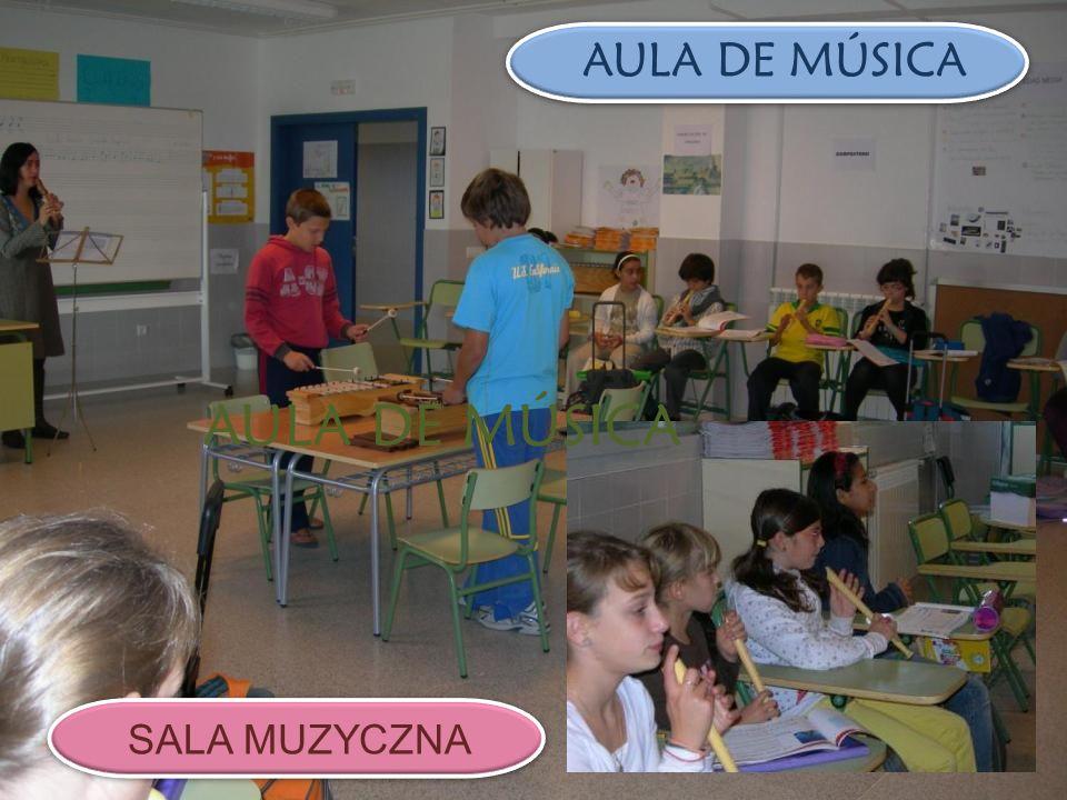 AULA DE MÚSICA SALA MUZYCZNA