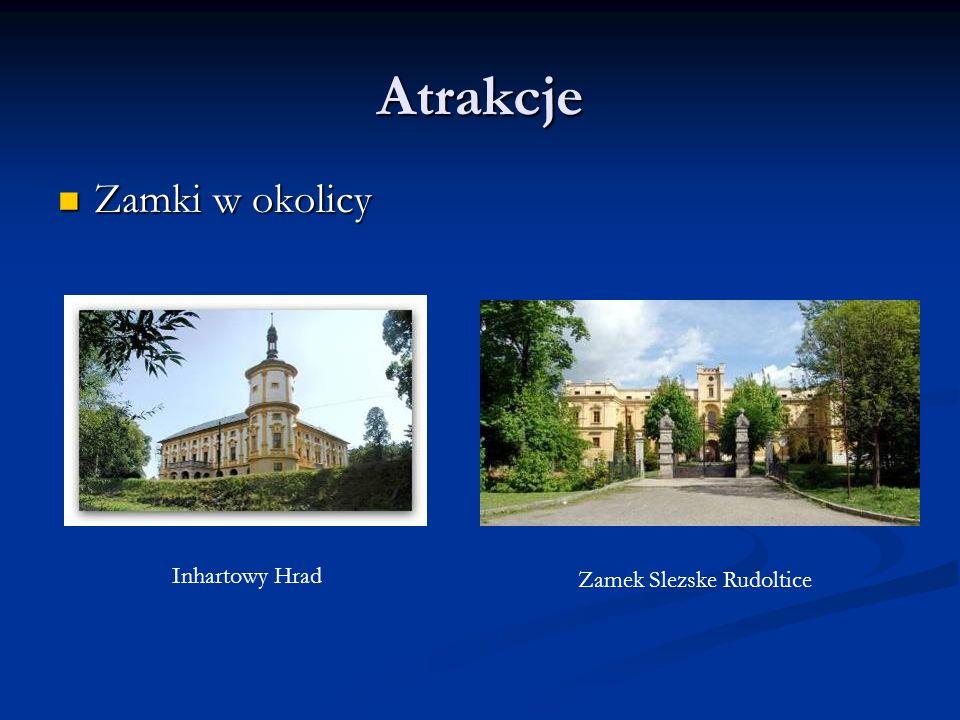 Atrakcje Zamki w okolicy Zamki w okolicy Inhartowy Hrad Zamek Slezske Rudoltice