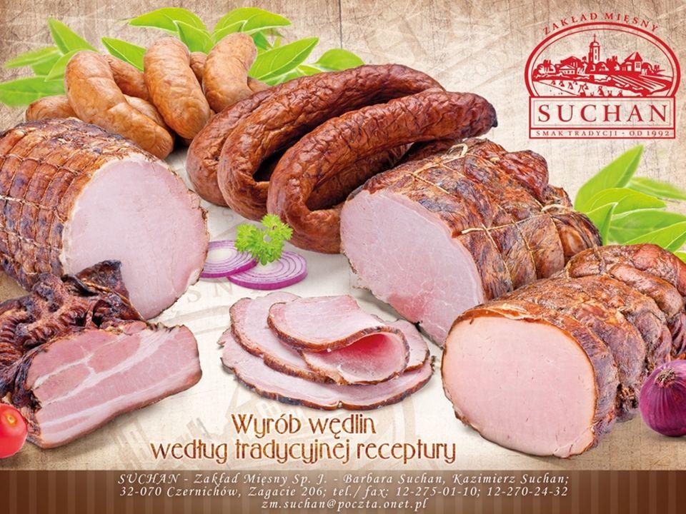 Zakład mięsny Suchan został założony w 1992 roku i od początku swojej działalności przywiązuje ogromną wagę do jakości oferowanych wyrobów, w celu jak najlepszego zaspokajania potrzeb konsumentów.