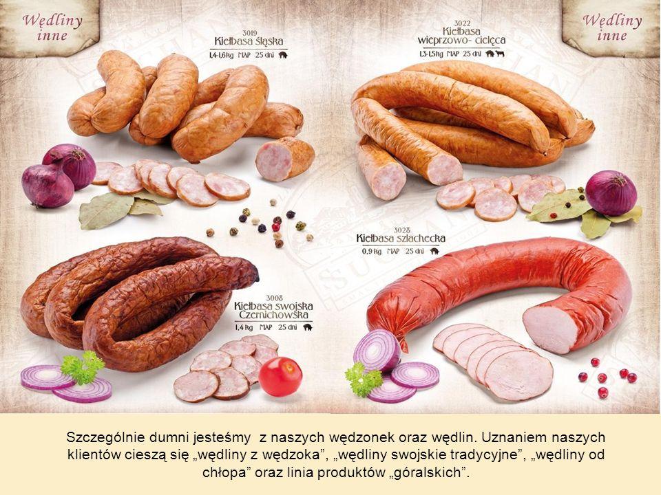 Wędliny z wędzoka to wykwintne specjały dla najbardziej wymagających smakoszy, którzy poszukują tradycyjnych i szlachetnych smaków, ceniąc szlachetność starych receptur.