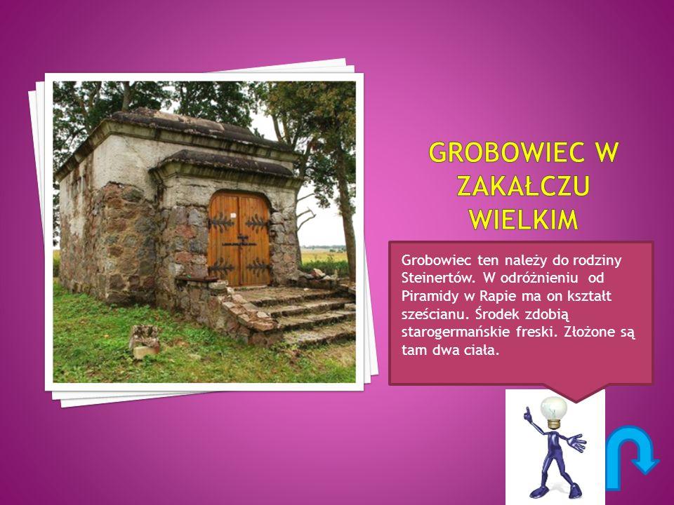 Grobowiec ten należy do rodziny Steinertów.