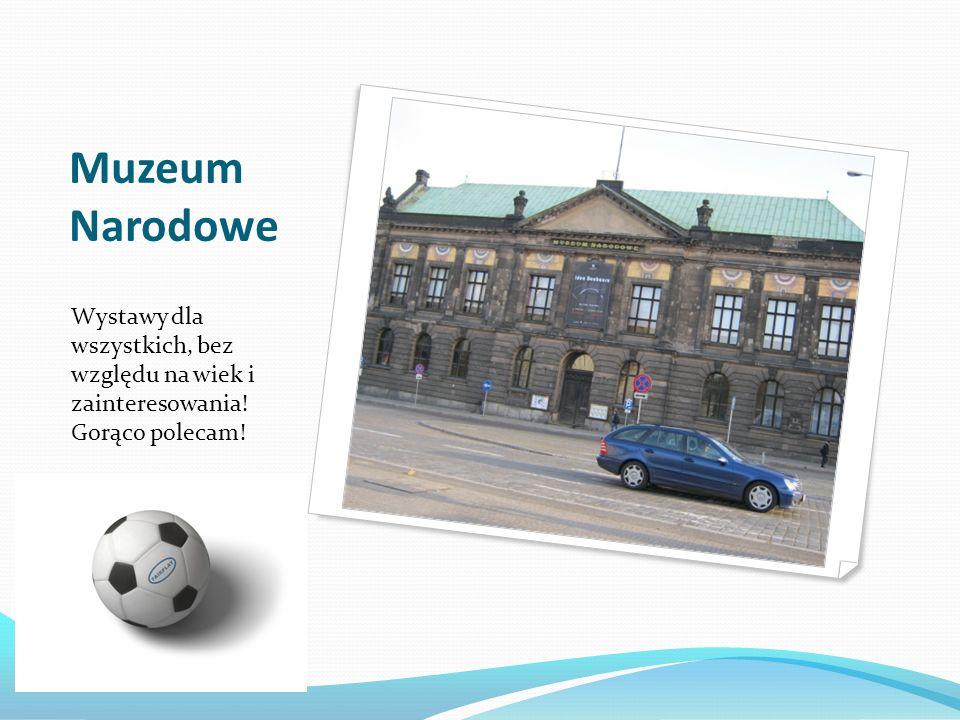 Muzeum Narodowe Wystawy dla wszystkich, bez względu na wiek i zainteresowania! Gorąco polecam!