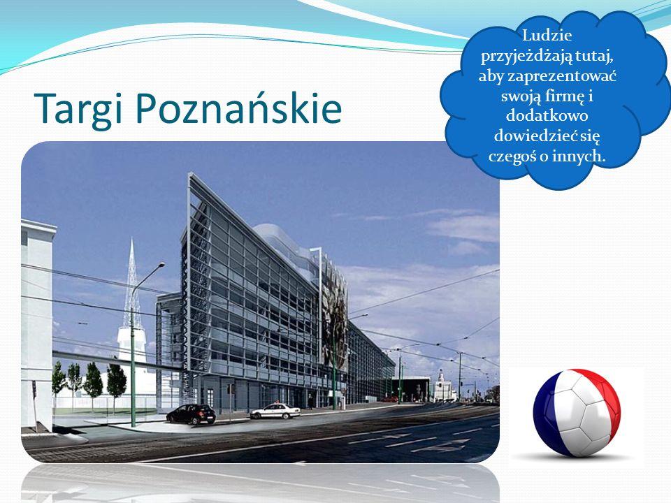 Targi Poznańskie Ludzie przyjeżdżają tutaj, aby zaprezentować swoją firmę i dodatkowo dowiedzieć się czegoś o innych.