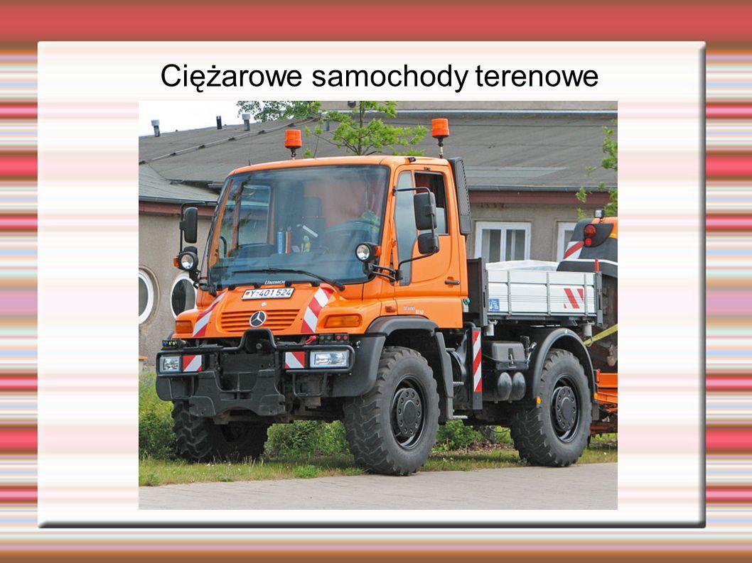 Ciężarowe samochody terenowe