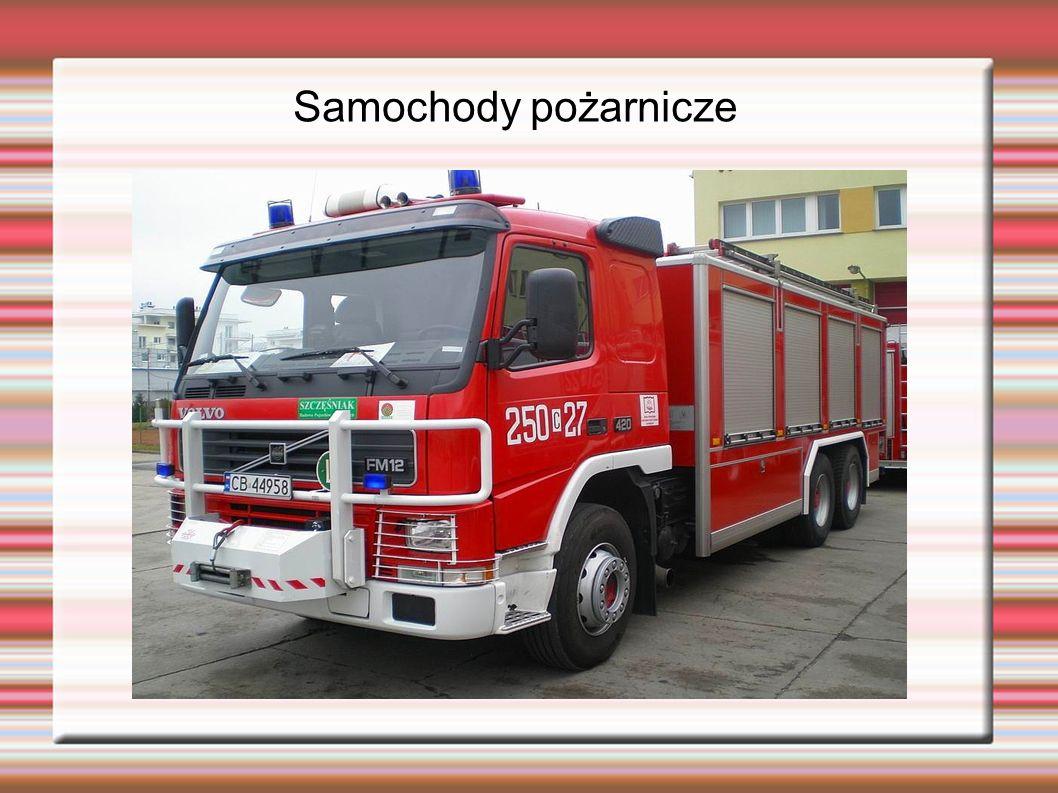 Samochody pożarnicze