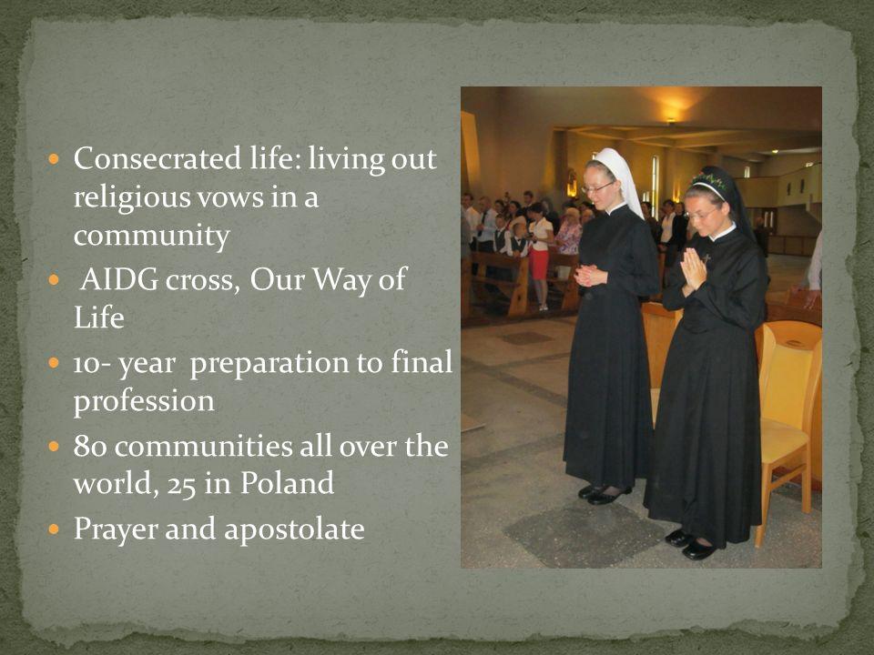 Established by Fr. Stanisław Rudziński SAC, 1984 UAC members
