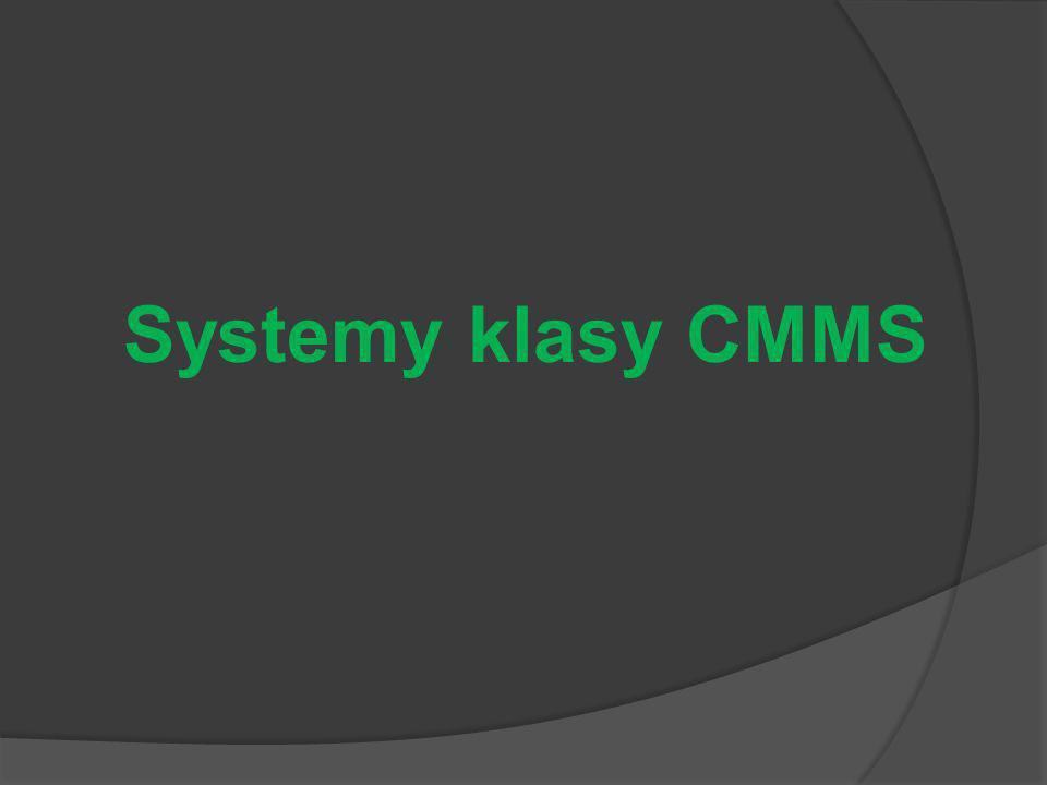 Systemy klasy CMMS
