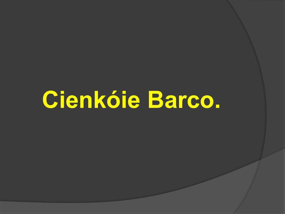 Cienkóie Barco.