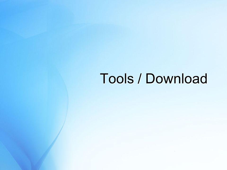 Tools / Download