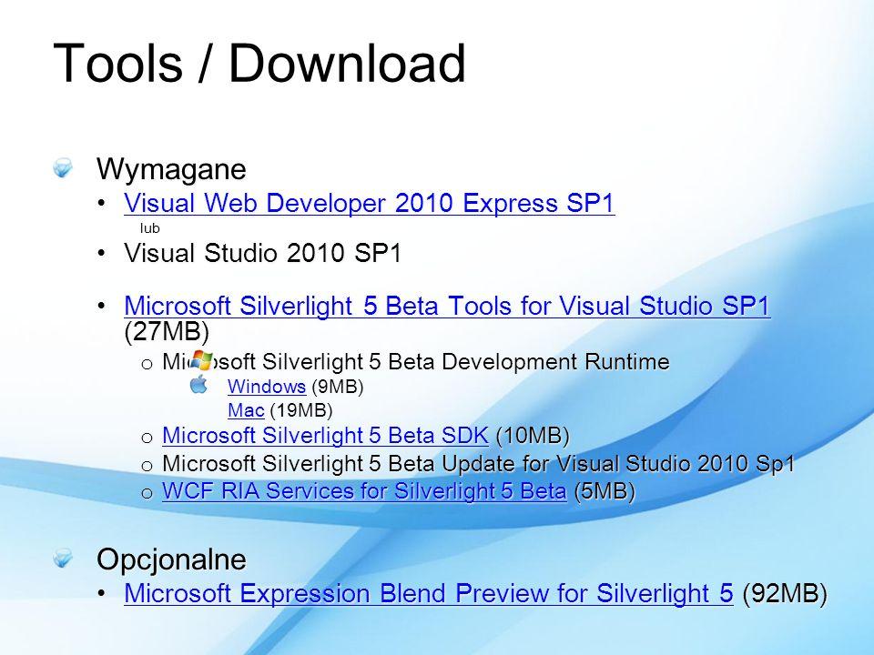 Wymagane Visual Web Developer 2010 Express SP1Visual Web Developer 2010 Express SP1Visual Web Developer 2010 Express SP1Visual Web Developer 2010 Expr