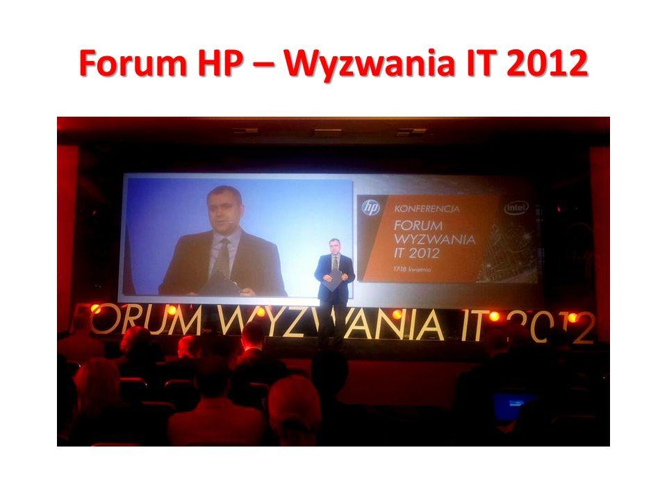 Forum HP – Wyzwania IT 2012 Jak się robi bank.