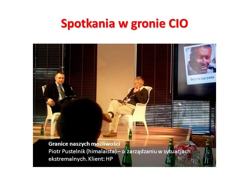 Spotkania w gronie CIO Jak się robi bank.