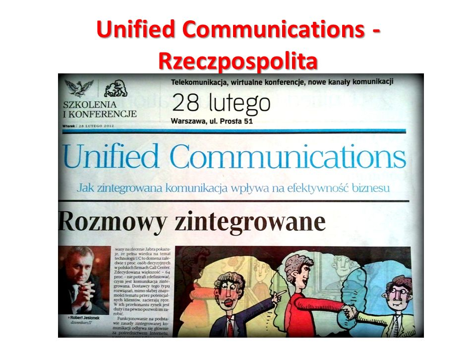 Unified Communications - Rzeczpospolita
