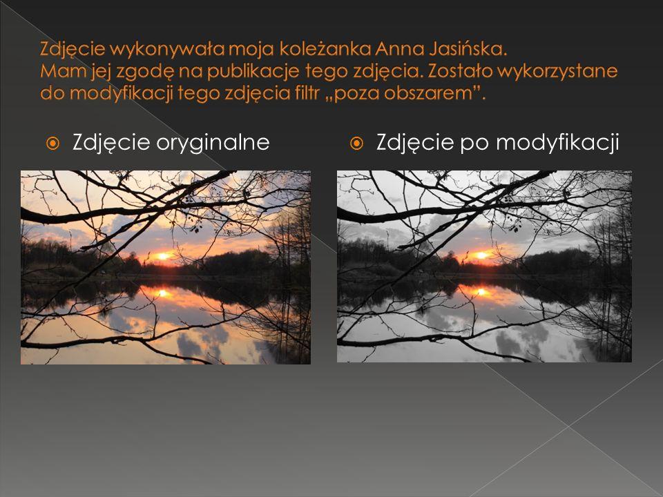 Zdjęcie oryginalne Zdjęcie po modyfikacji