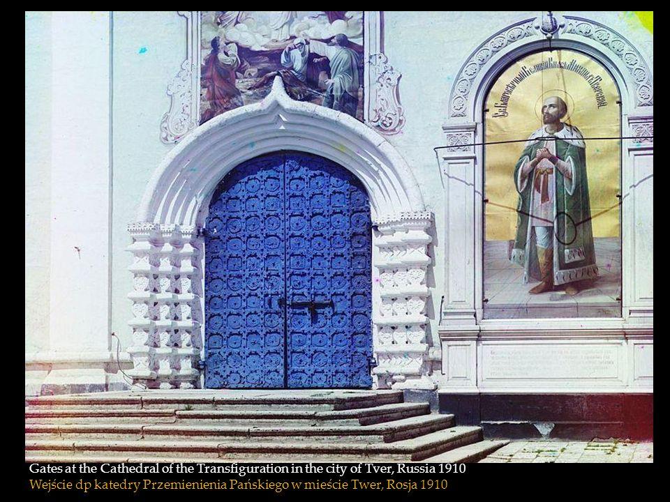 The Monastery of St. Nil on Stolobnyi Island in Lake Seliger in Tver Province. 1910 Klasztor św Nil na wyspie Stolobnyi na jeziorze Seliger w okręgu T