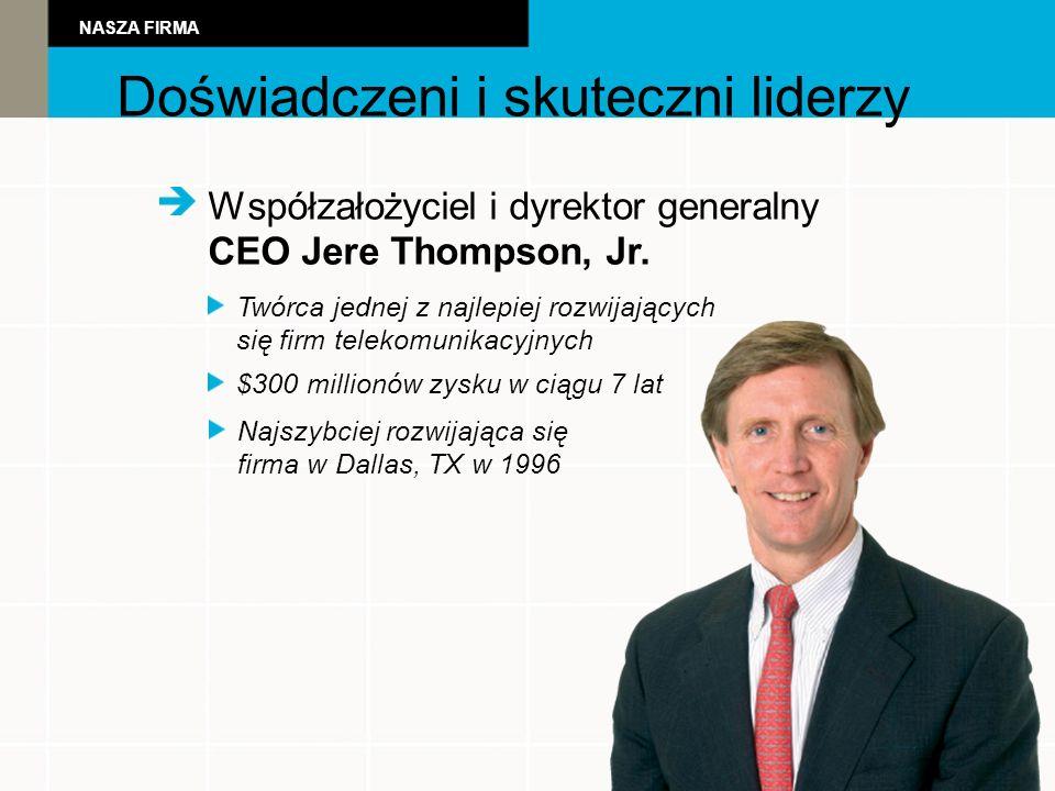 Powerful Leadershi Współzałożyciel i dyrektor generalny CEO Jere Thompson, Jr.
