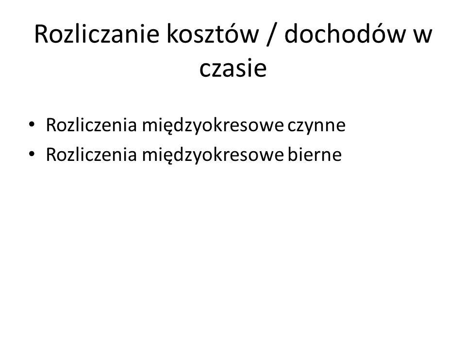 Układy ewidencji kosztów 1.Układ rodzajowy 2.Układ kalkulacyjny