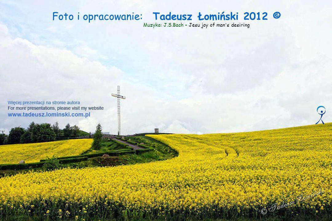 Foto i opracowanie: Tadeusz Łomiński 2012 © Muzyka: J.S.Bach – Jesu joy of man s desiring