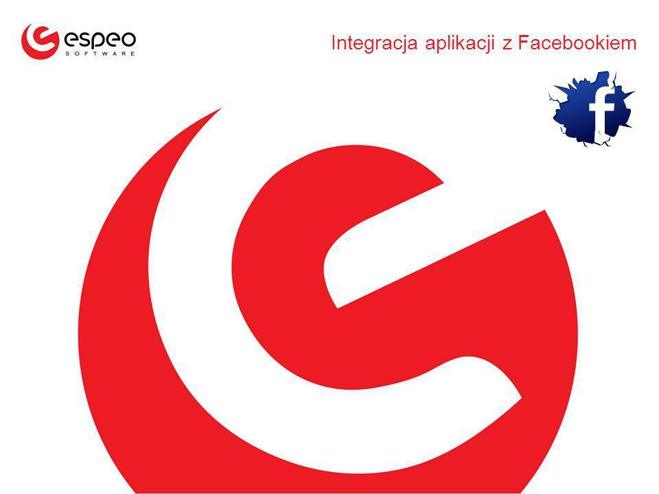 Integracja aplikacji z Facebookiem