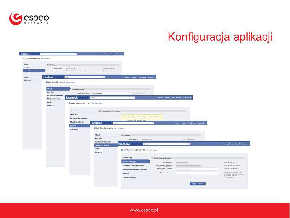 Konfiguracja aplikacji