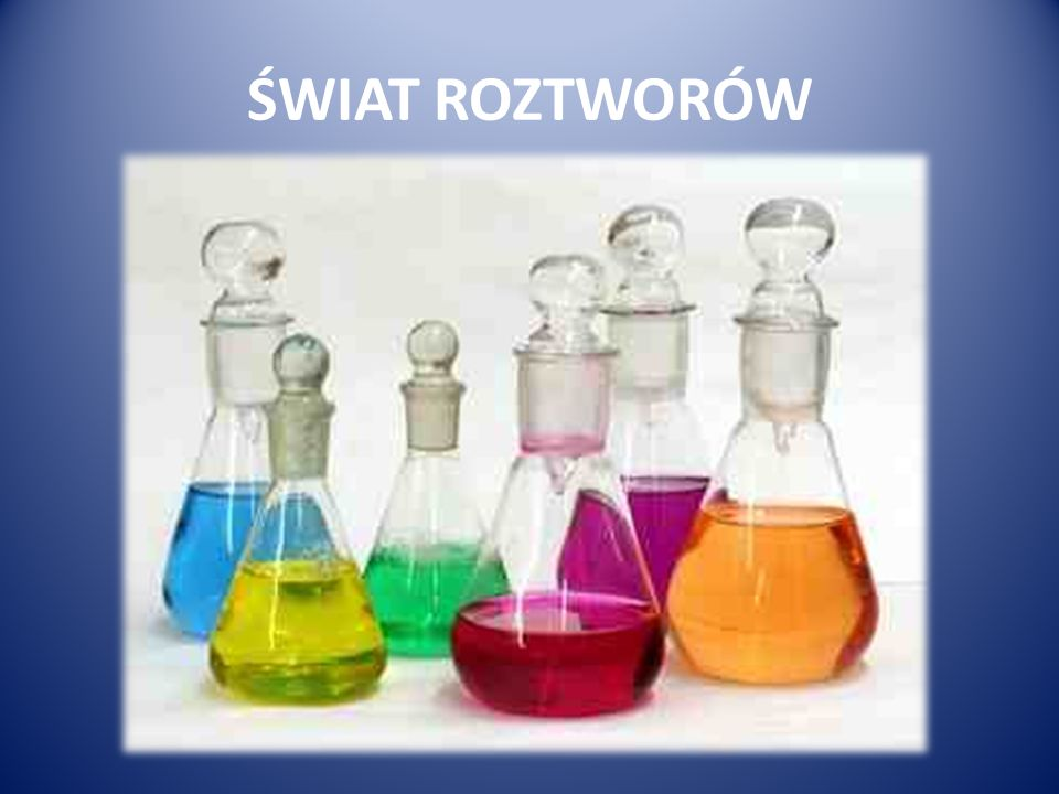 DOCHODY W ŚWIECIE ROZTWORÓW Roztwór klasyfikowane są do dwóch kategorii: KWAS ZASADA Dla zasad czym wyższe pH tym wyższy majątek.